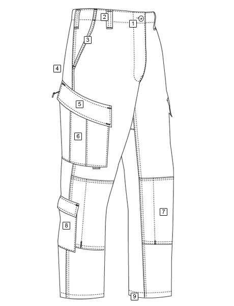 XFIRE™ INTERLOCK TACTICAL RESPONSE UNIFORM® (TRU) PANTS